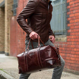Large Cabin Holdall 50cm, Tobacco - Jekyll and Hide SA