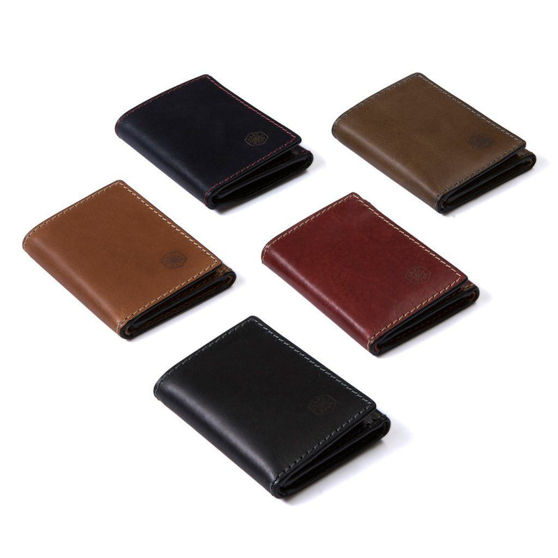 Tri Fold Card Holder, Red - Jekyll and Hide SA