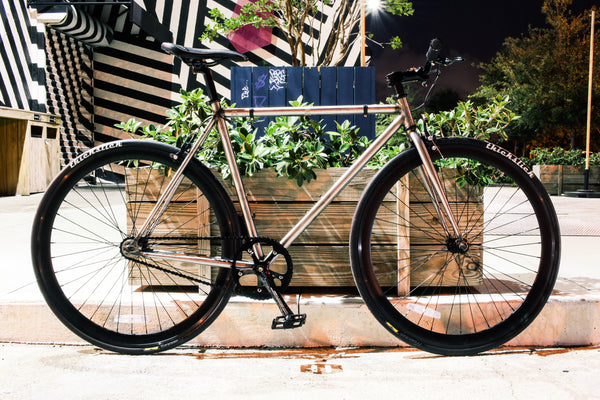 Deciding between hi-tensile and chromoly fixed gear bikes?