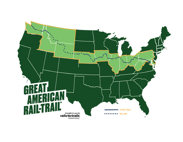 Coming Soon! The Great American Rail Trail