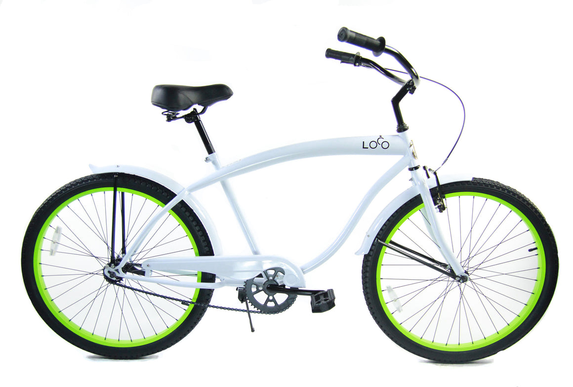 "Men's Beach Cruiser 26"" - The Epiphany"