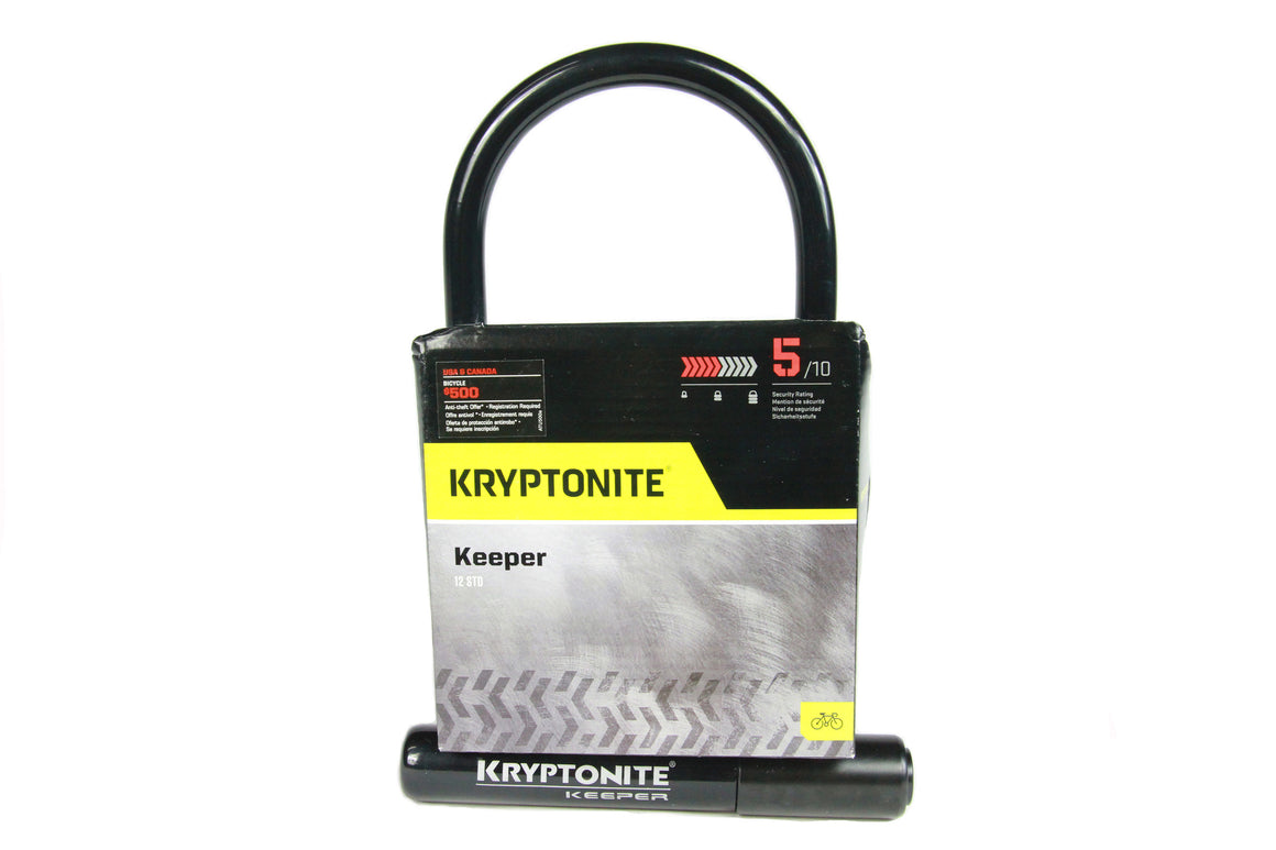 Kryptonite Keeper U-Lock 12