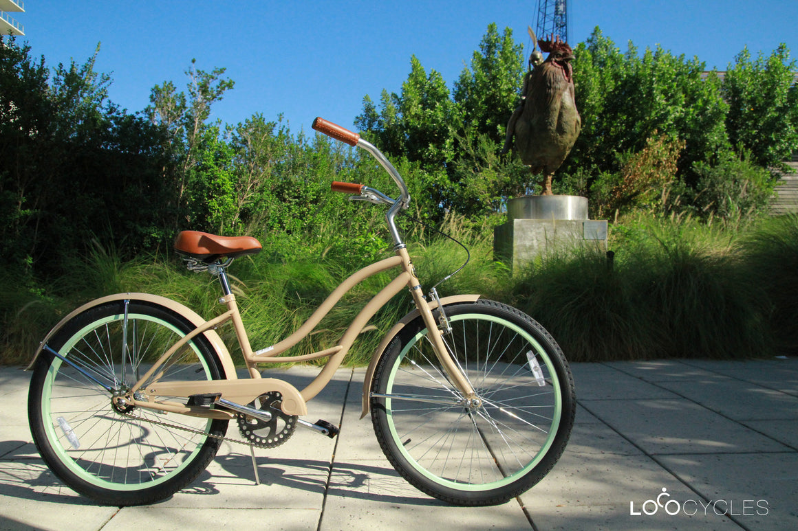 Womens Beach Cruiser - The Mint Macciato