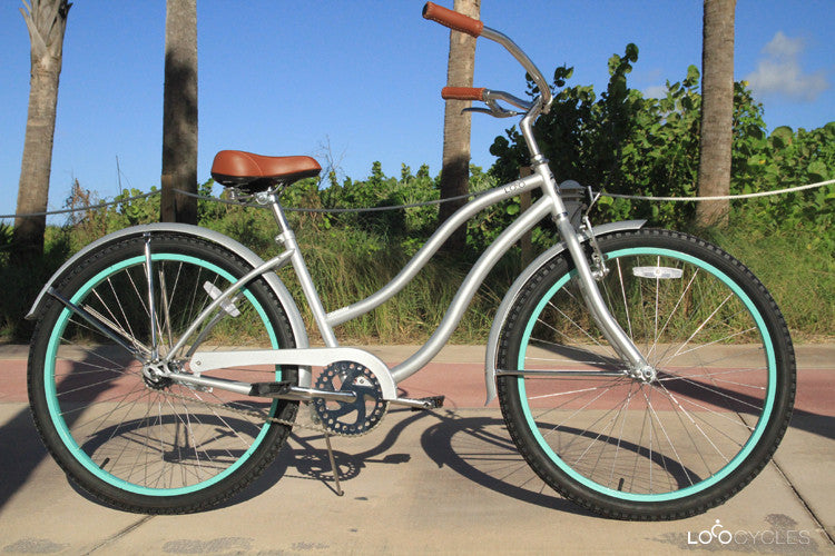 Womens Beach Cruiser - The Aqua de Loca