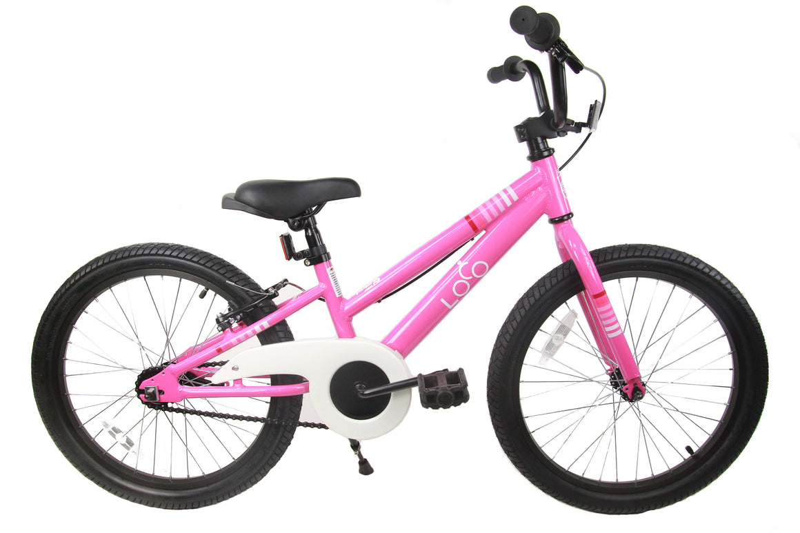 "Loco Girl's 20"" Bicycle - The Rosey"