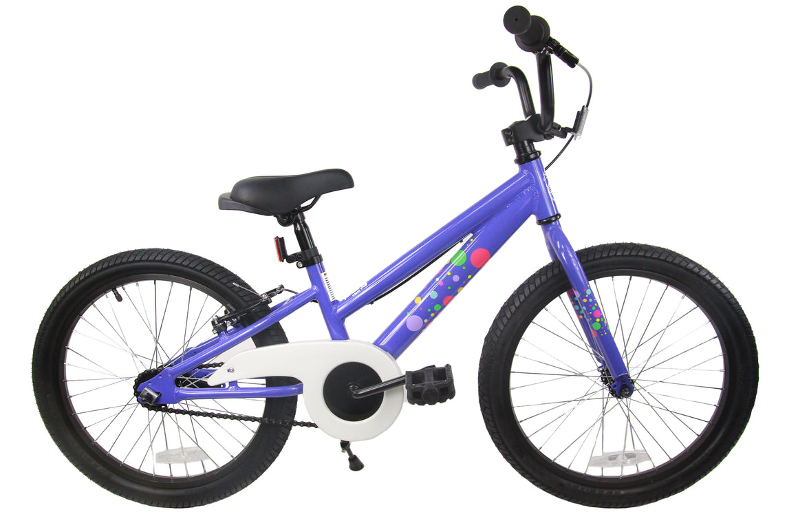 "Loco Girl's 20"" Bicycle - The Bubbles"