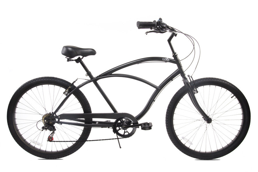 "Mens Beach Cruiser 26"" - The Shadow"