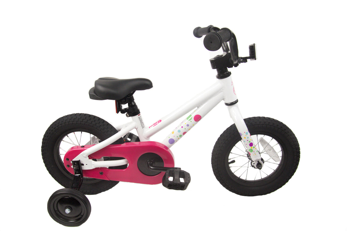 "Loco Girl's 12"" & 16"" Bicycle - The Bubbles"