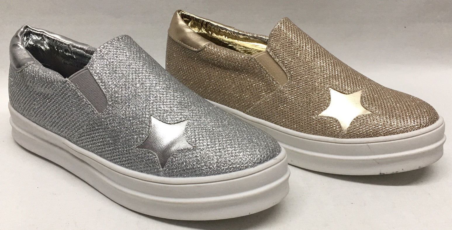 Womens Blossom Transit1 Silver Champagne Gold...