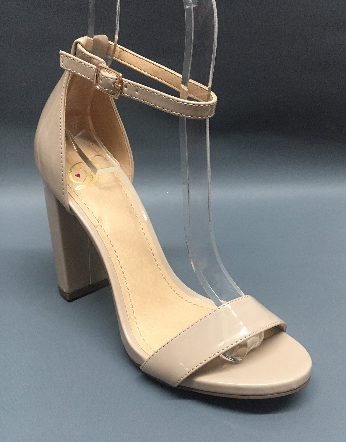 New Delicious Shiner Womens Juniors Nude Beige...