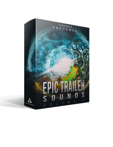 Epic Trailer Sounds Vol. 2 - Produced by Generdyn