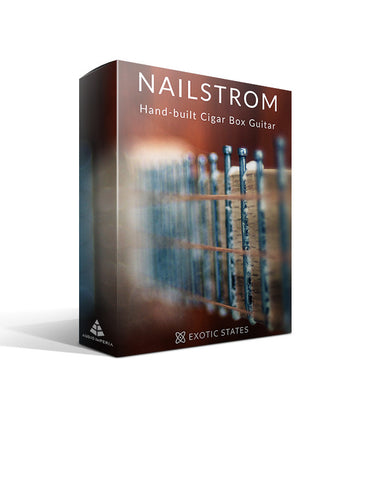 Nailstrom (Cigar Box Guitar for Kontakt)