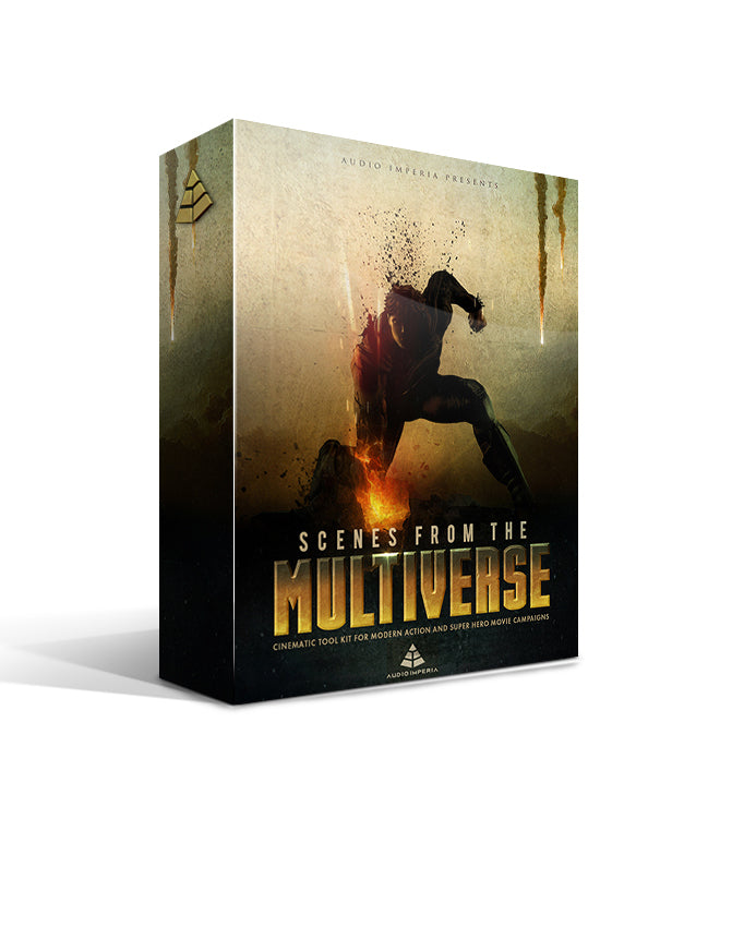 Scenes From The Multiverse Vol. 1 (Epic Cinematic Sound Design for Kontakt)