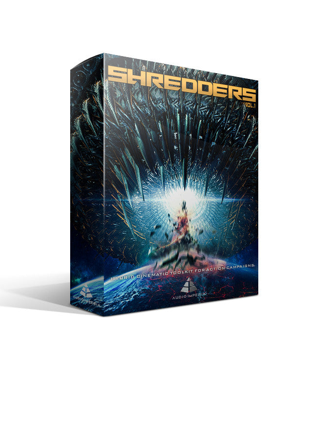Shredders Vol.1 (Epic Electronic Sound Design for Kontakt)