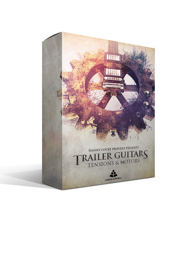 Trailer Guitars 1 (Guitar Tensions & Motors for Kontakt)
