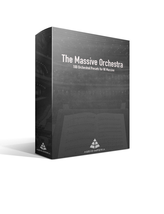The Massive Orchestra - Orchestral Presets for NI Massive
