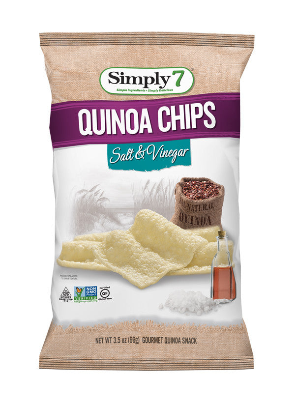 Simply 7 Quinoa Chips Salt & Vinegar