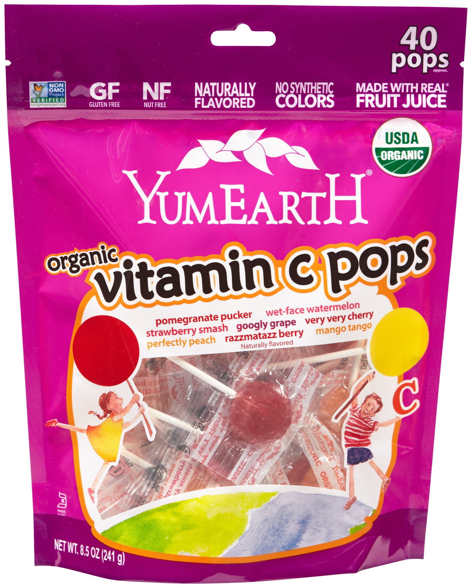 YummyEarth - Vitamin C Lollipops