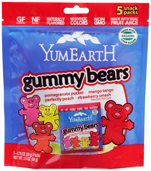 YummyEarth Gummy Bears: 60 bags