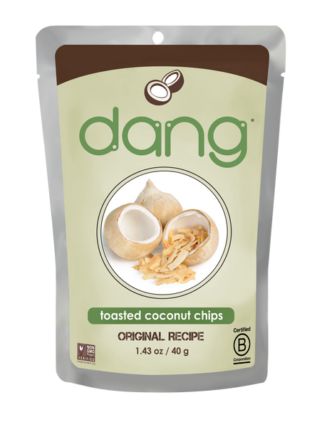 Dang Toasted Coconut Chips - Snack Pack