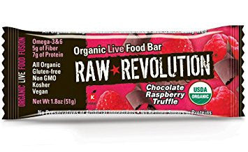 Raw Revolution Chocolate Raspberry Truffle Bar