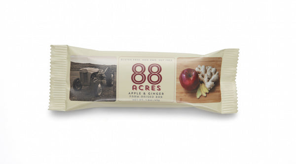 88 Acres Apple & Ginger Craft Seed Bars