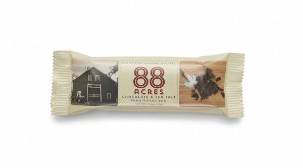 88 Acres Chocolate & Sea Salt Craft Seed Bars