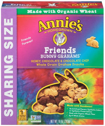 Annie's Homegrown Bunny Grahams Friends