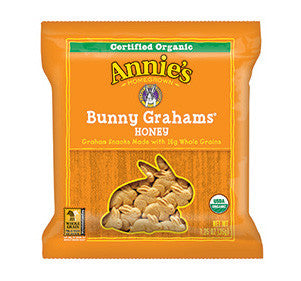 Annie's Homegrown Honey Bunny Grahams 1oz Snack Pack - 36 Count