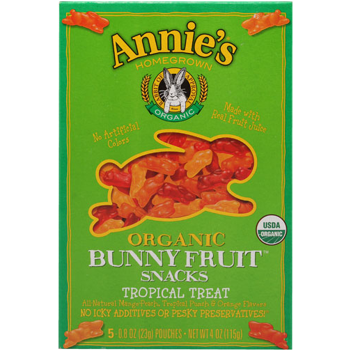 Annie's Homegrown Organic Tropical Bunny Fruit Snack