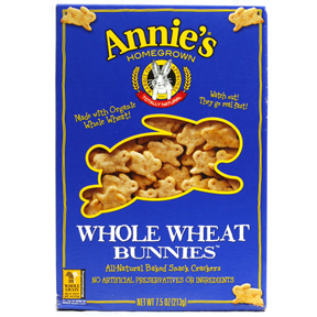 Annie's Homegrown Whole Wheat Bunnie Crackers