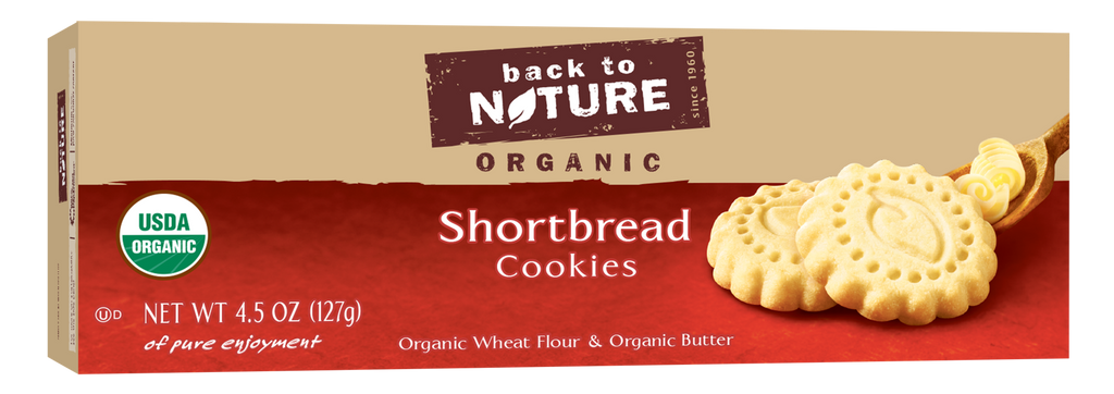 Back To Nature Shortbread Cookies