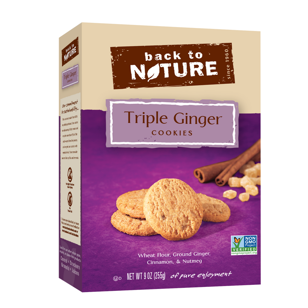 Back To Nature Triple Ginger Cookies