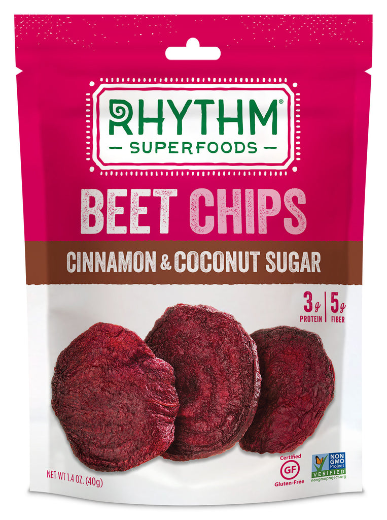 Rhythm Superfoods - Cinnamon & Coconut Sugar Beet Chips