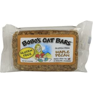 Bobo's Oat Bars - All Natural Gluten Free Maple Pecan