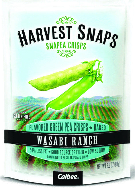 Harvest Snaps Wasabi Ranch Snapea Crisps