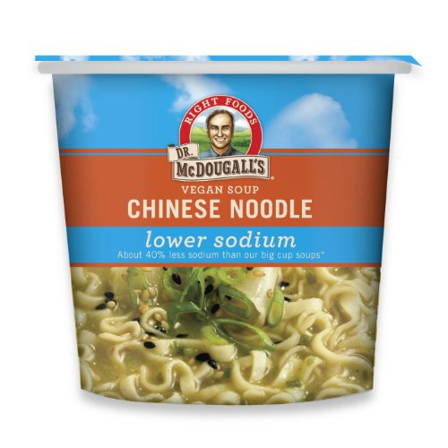 Dr. McDougall's Vegan Low Sodium Chicken Flavored Noodle Soup