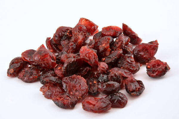 Dried Cranberries: Fruit Juice Sweetened
