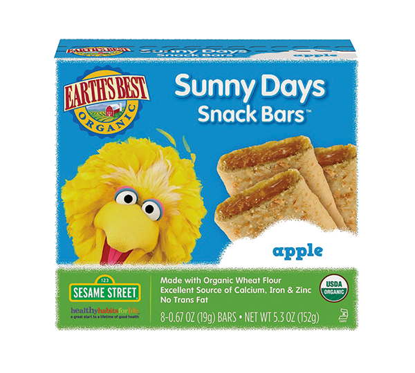 Earth's Best Sunny Days Apple Snack Bars