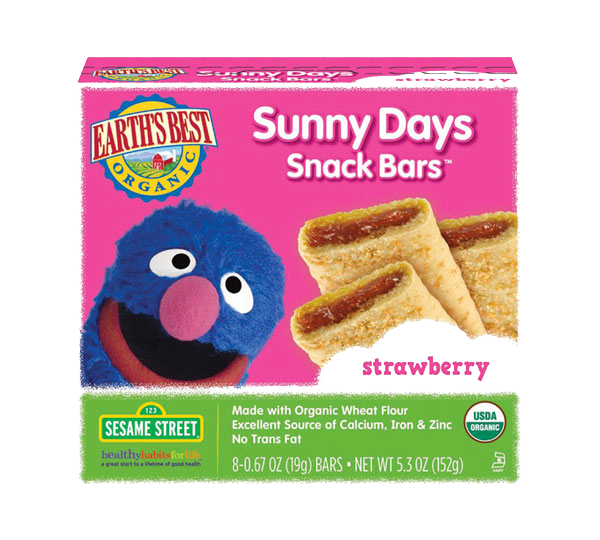 Earth's Best Sunny Days Strawberry Snack Bars