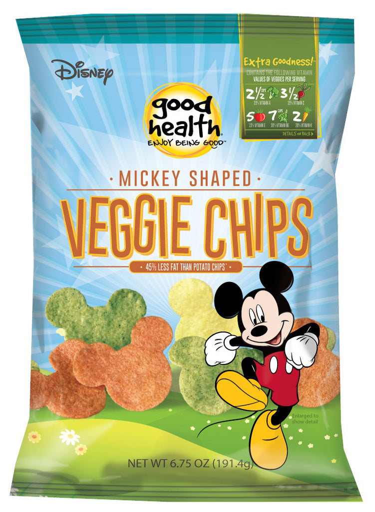 Good Health Veggie Chips - Mickey Shaped
