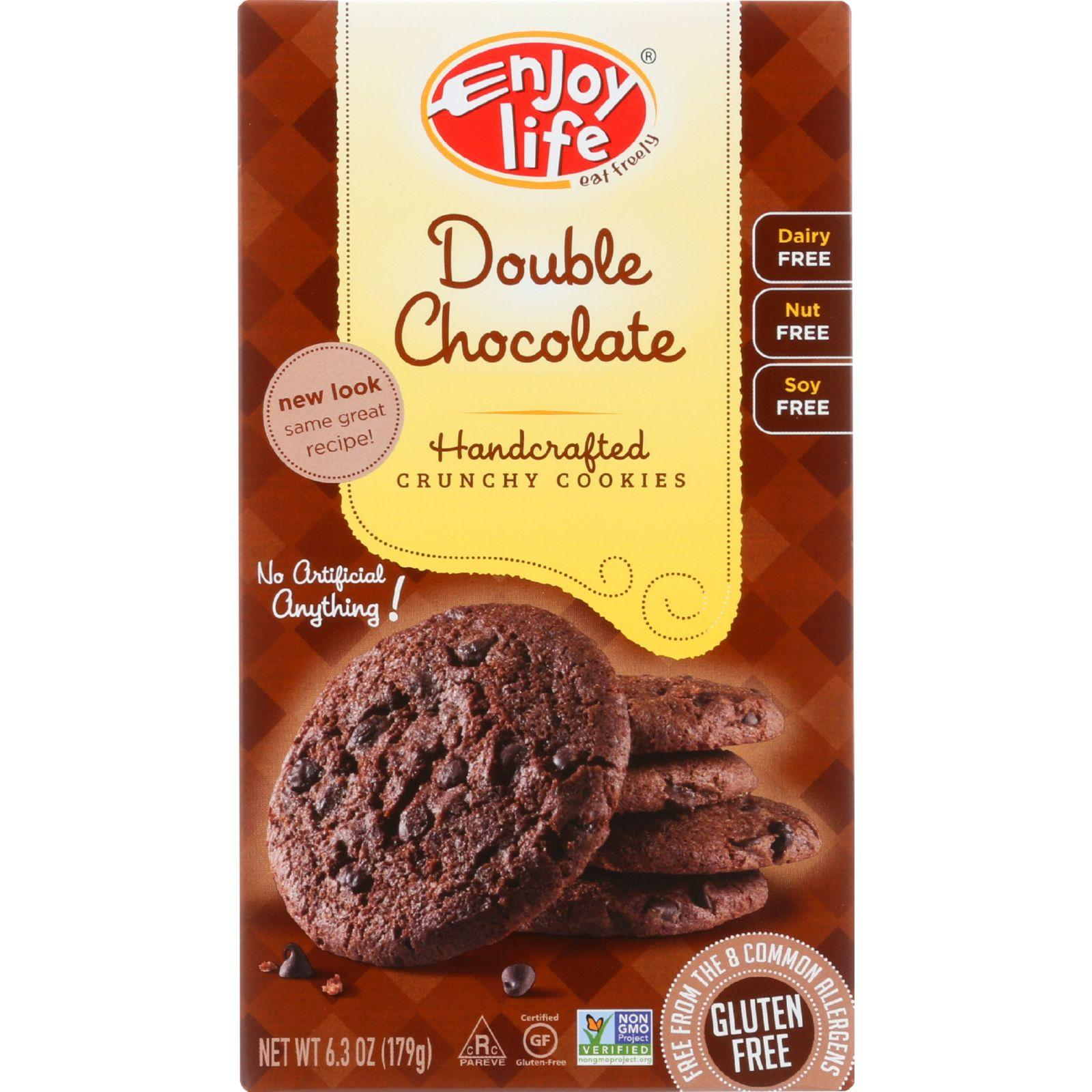 Enjoy Life Double Chocolate Chip Crunchy Cookie