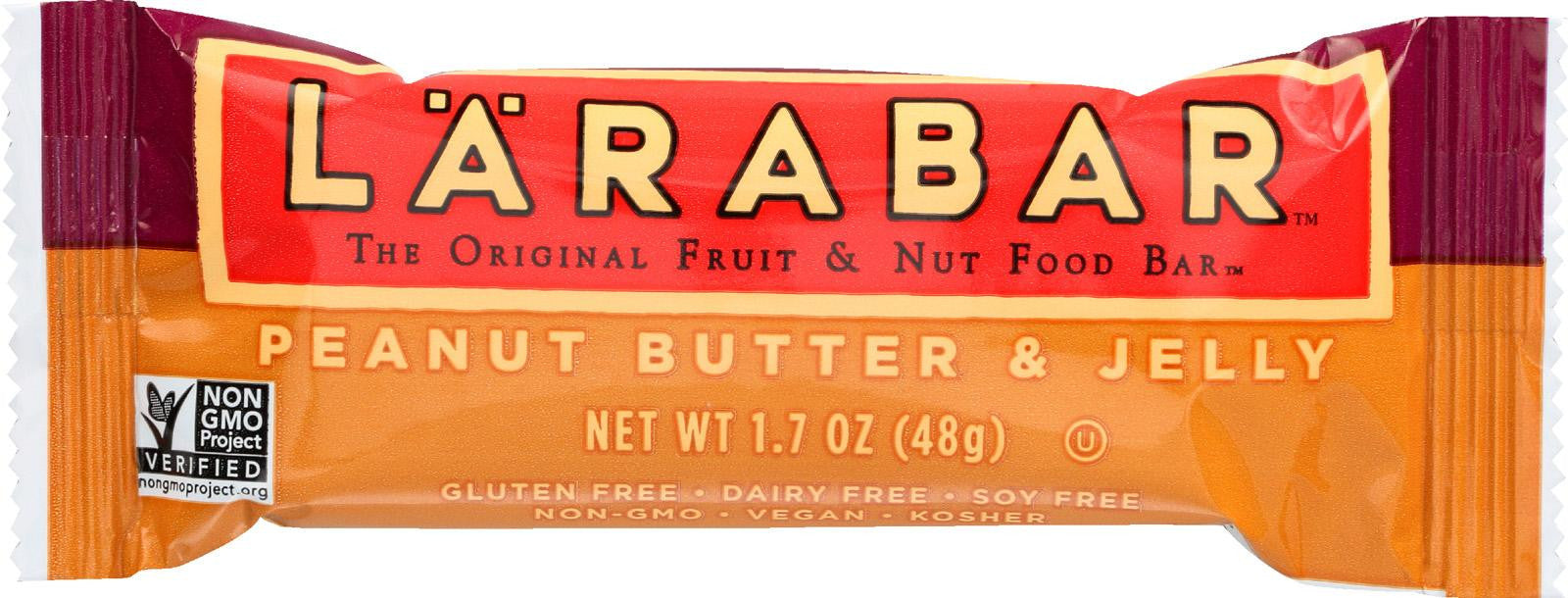 LaraBar - Peanut Butter and Jelly