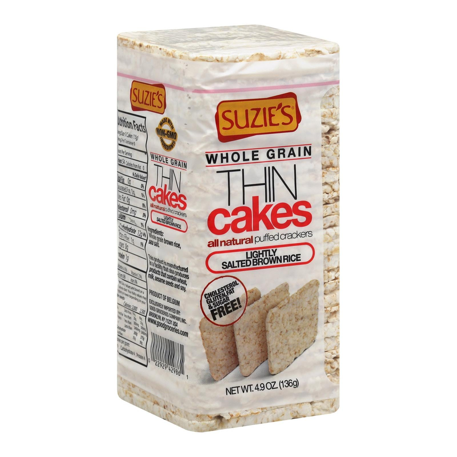 Suzie's Lightly Salted Thin Cakes
