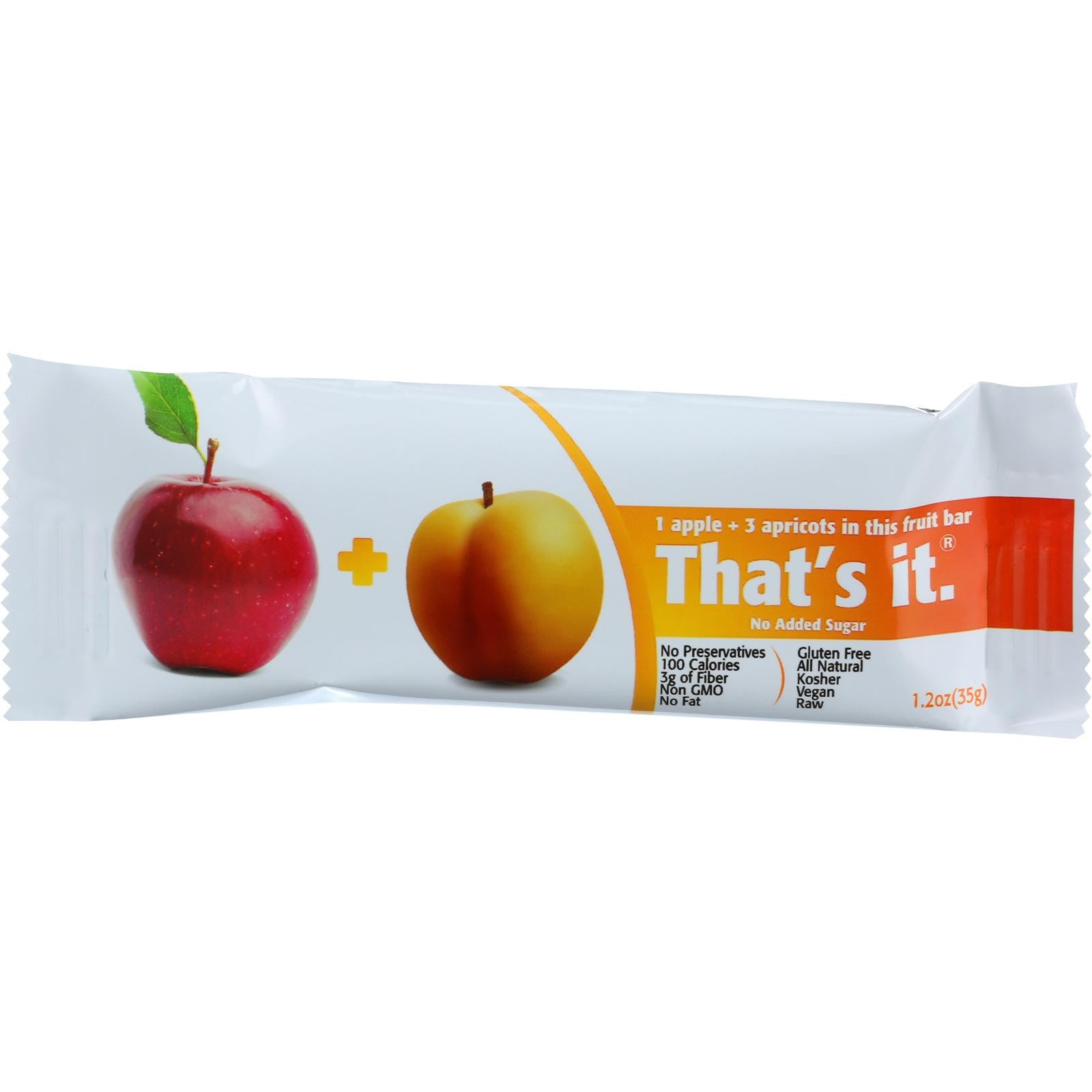 Thats It Fruit Bar Apple Apricot