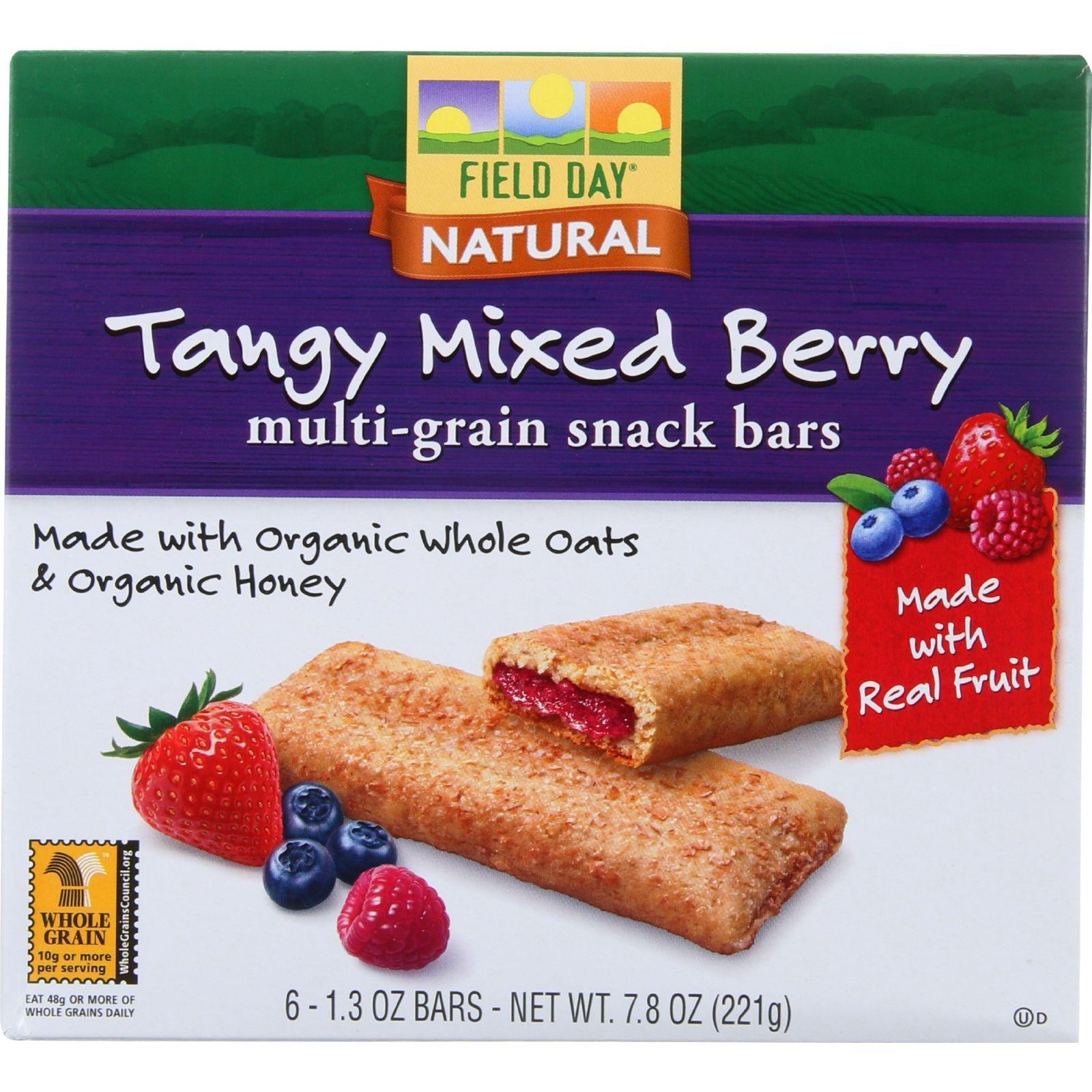 Field Day Multi Grain Cereal Bar - Mixed Berry