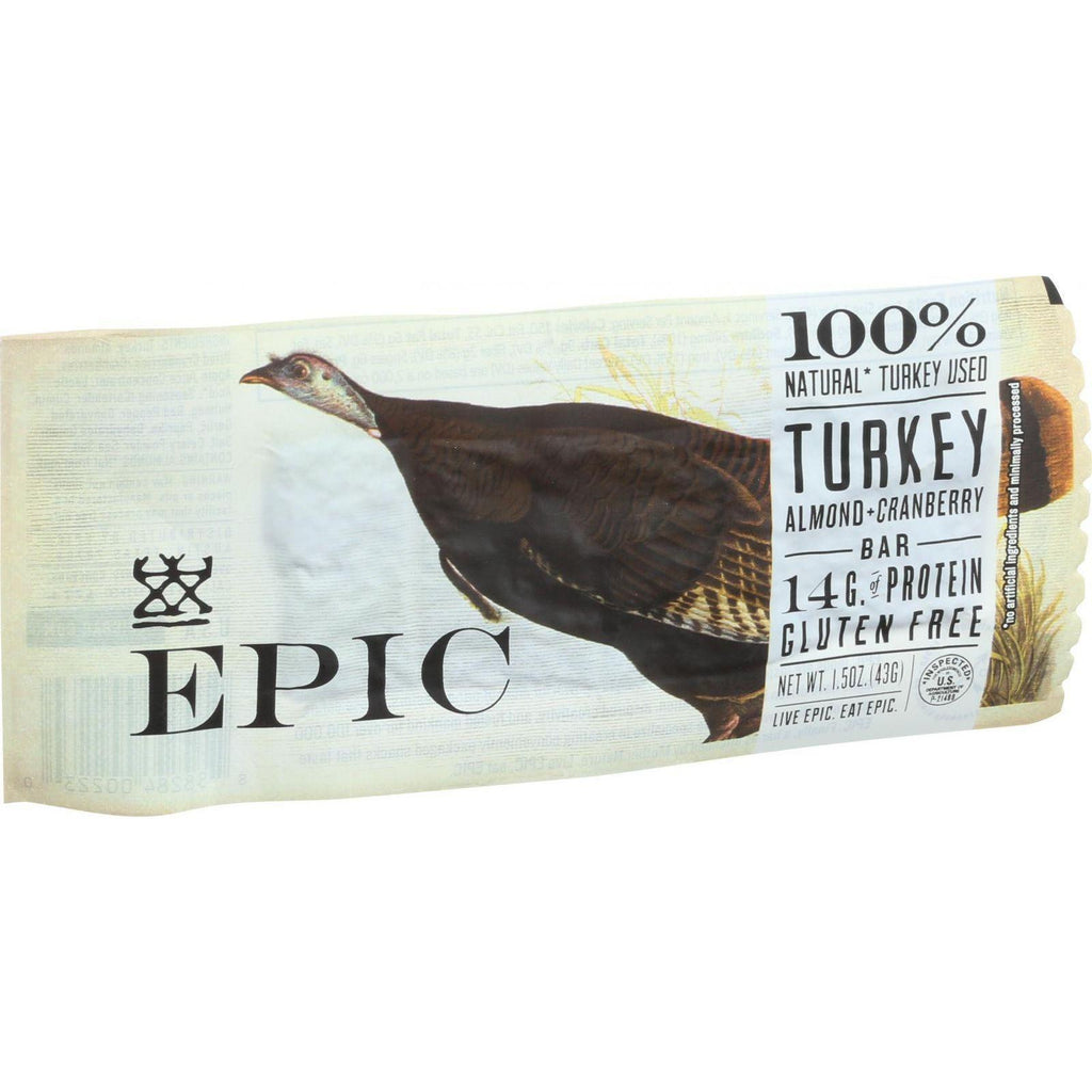 EPIC Protein Bar - Turkey Almond Cranberry