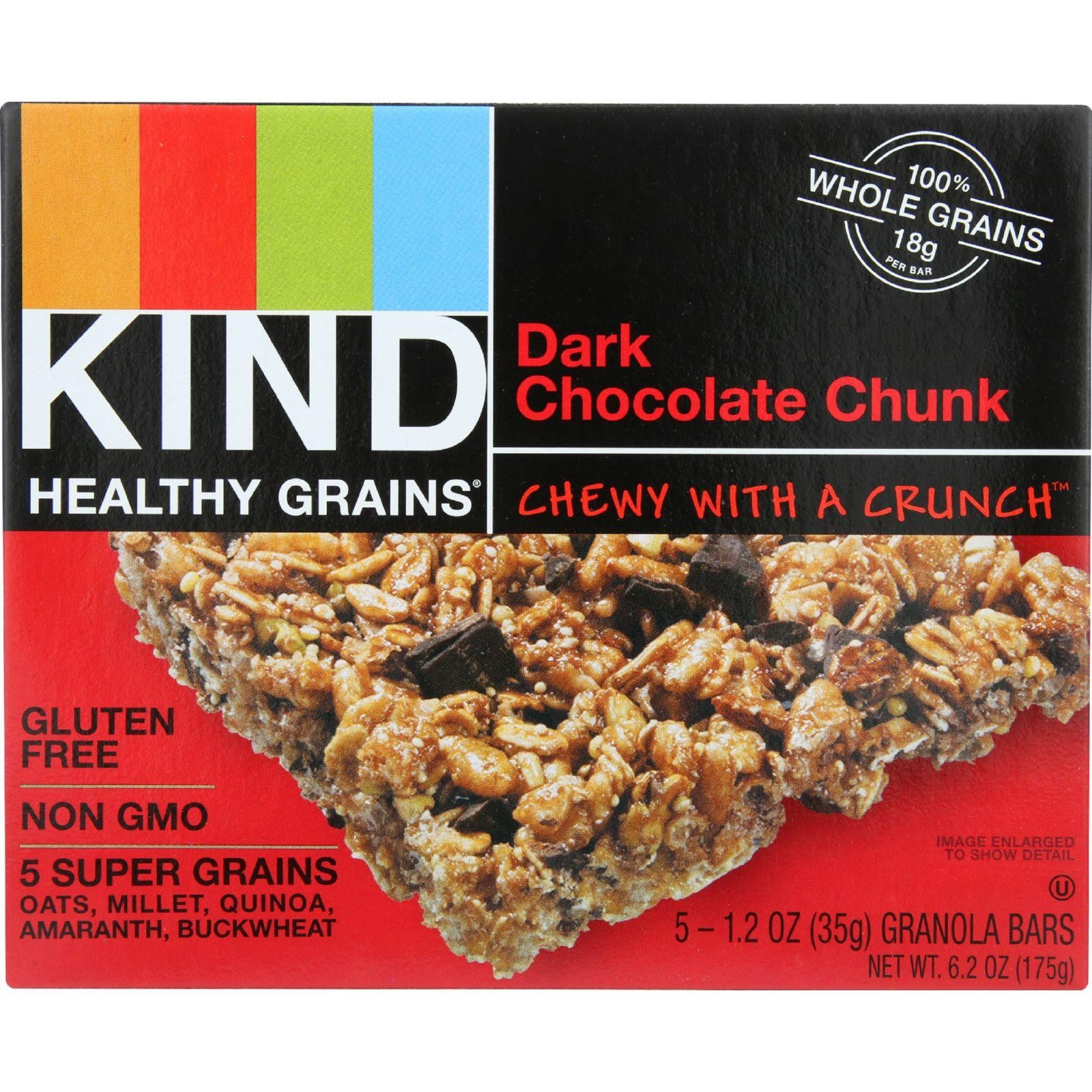 KIND Dark Chocolate Chunk Healthy Grain Bar