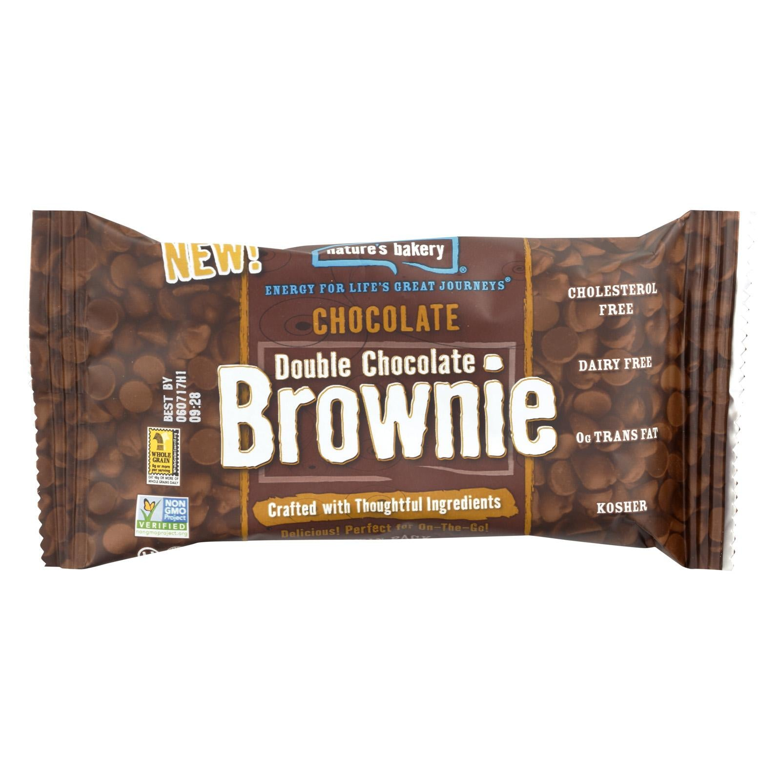Nature's Bakery Chocolate Brownie - Double Chocolate: 12 bars