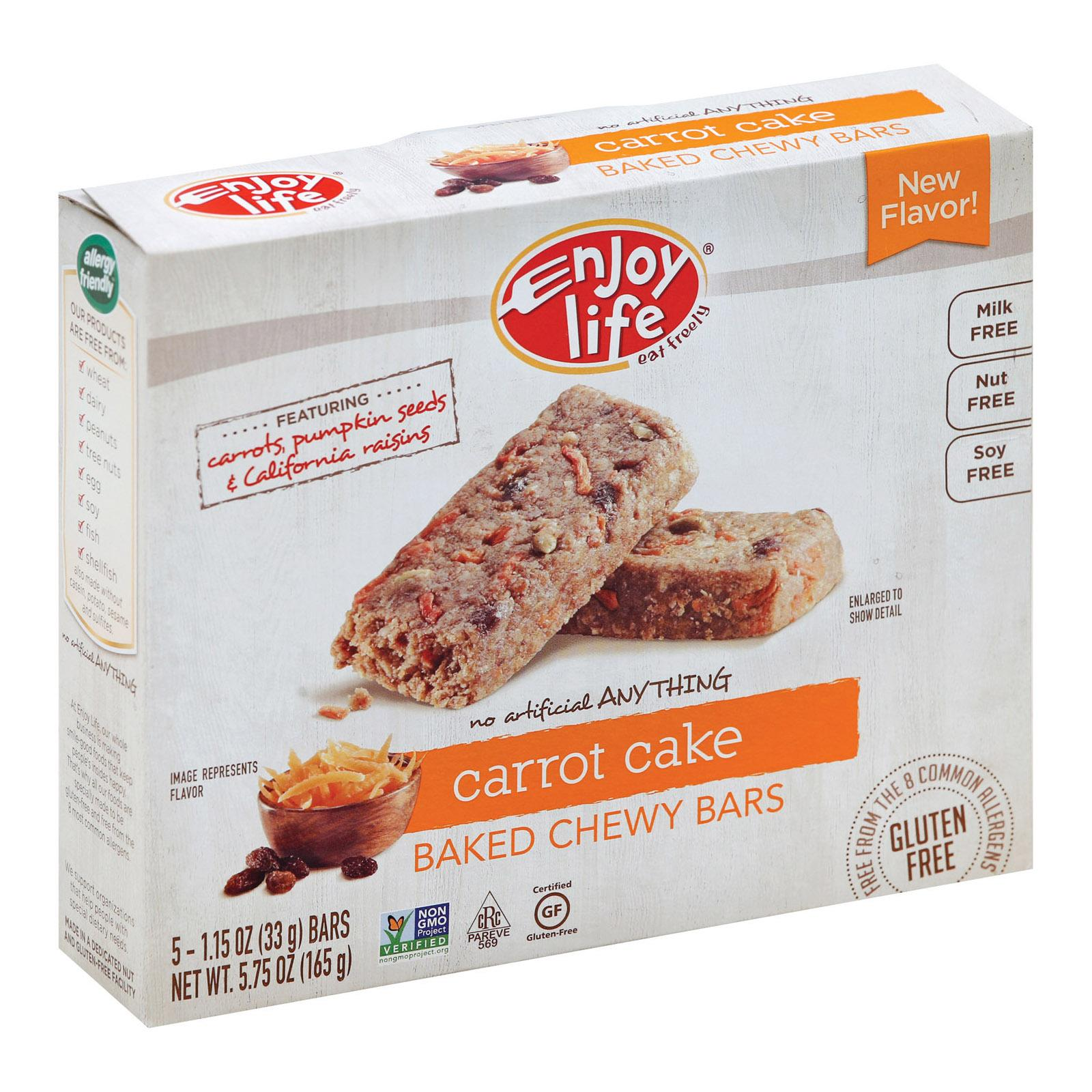 Enjoy Life Carrot Cake Snack Bar